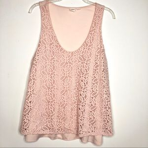 Gap lace sleeveless top